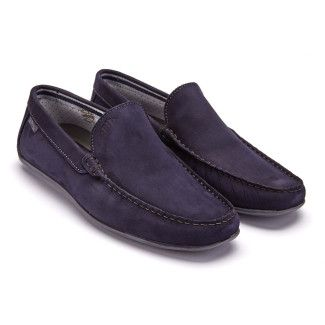 Men's Moccasins APIA Nazare NL Navy Grey