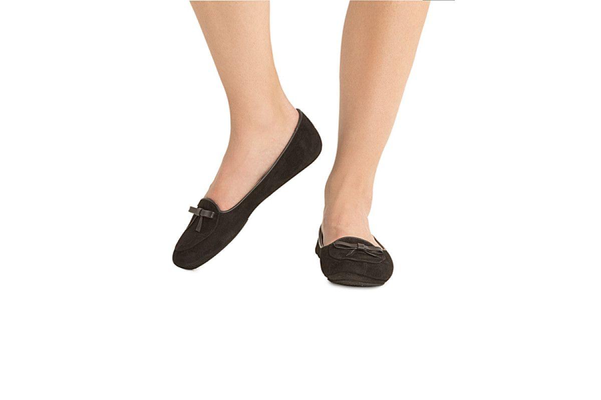 Womens Slippers Apia 17312 Nero