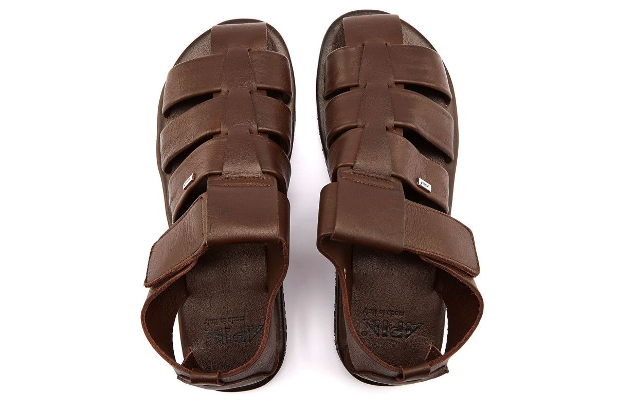 Men's Sandals APIA Marmi Marrone
