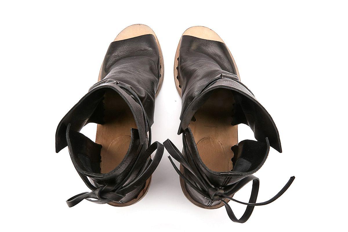 De Women's Sandals Officine 003 Creative Apia Ankle Boots Nero Sidoine AzAxUZH