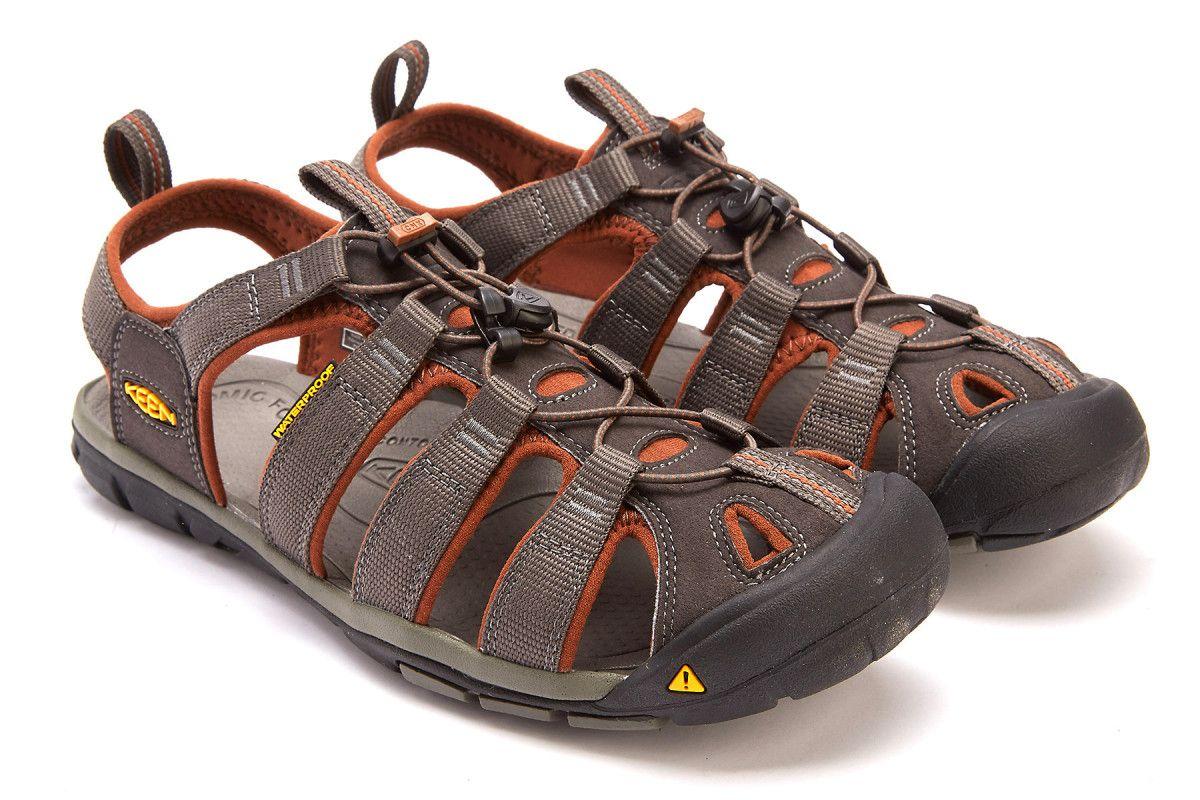 0f830c80949 Men's Sport Sandals KEEN Clearwater CNX Raven/Tortoise SH - APIA DE