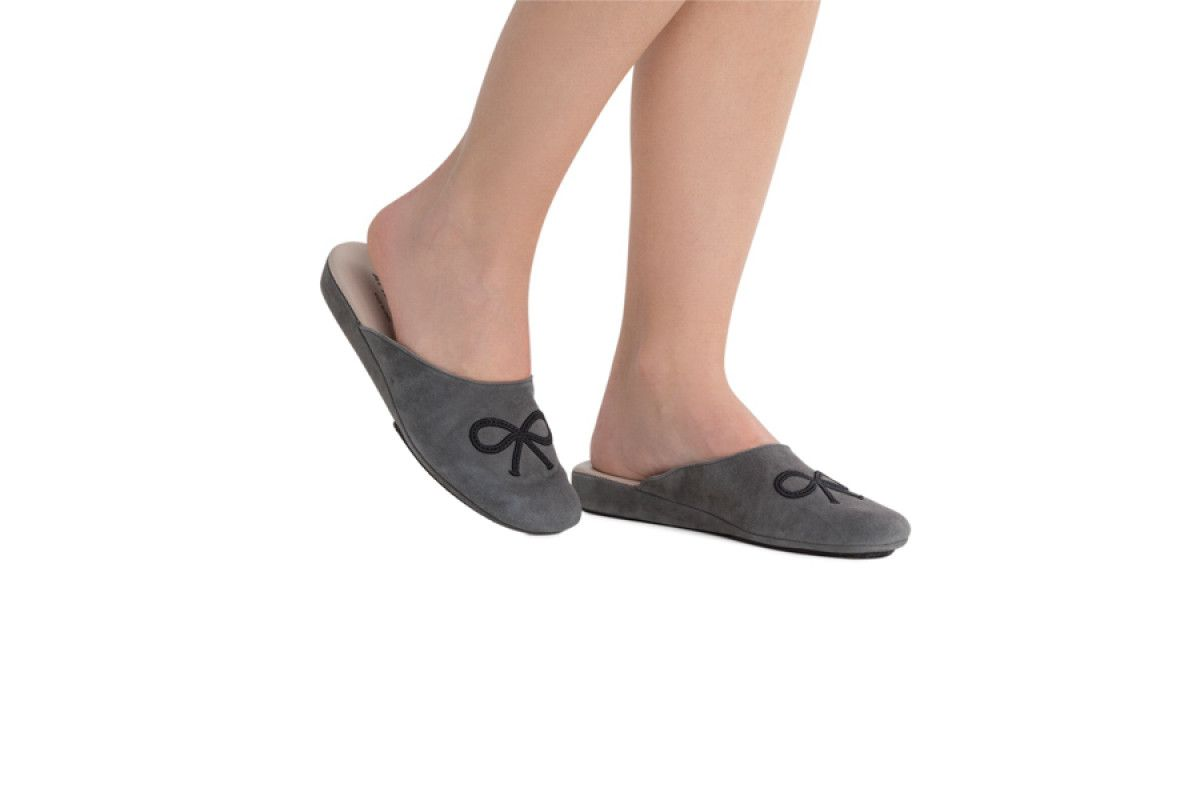 Womens Slippers Apia 17310 Urbangrey