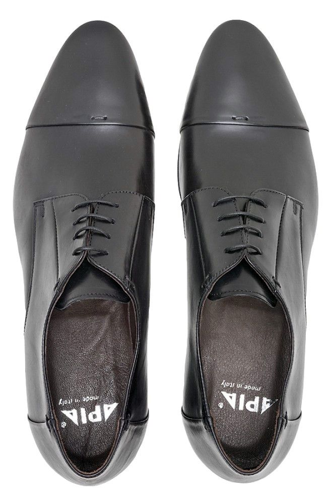 Men's Derby Shoes APIA Granaro Nero