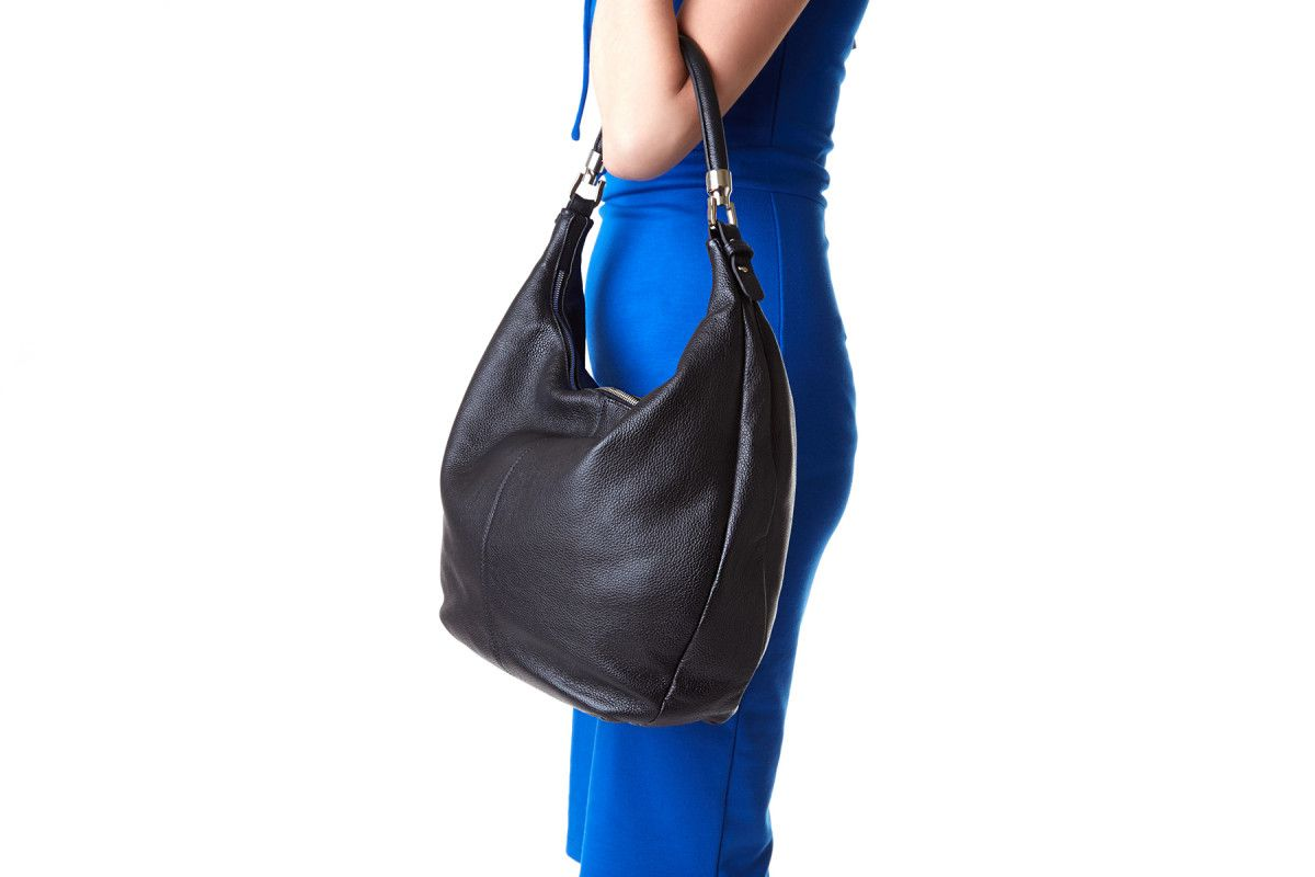 Women's Bag 210 APIA 3011 Lisc. Pegaso Nero
