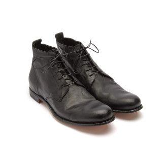 Lace Up Boots Mono 002 Nero-000-012677-20