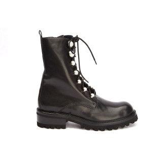 Lace Up Boots Abigail Nero-000-012769-20