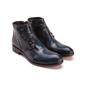 Ankle Boots 665 Blu-000-012603-20