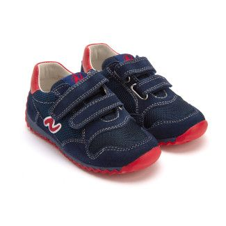 Sneakers Sammy Navy/Rosso-001-001427-20