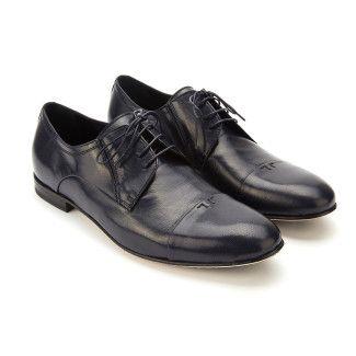 Derby Shoes Pio Navy Blu-000-012177-20