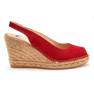 Wedge Sandals Carina Rojo-000-012167-20