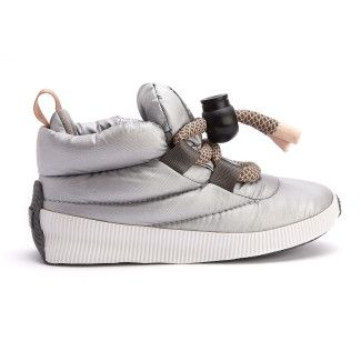 Insulated Boots Out N About Puffy Lace Silver-001-001683-20