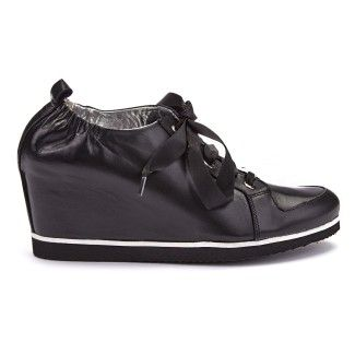 Wedge Shoes Inka Nero-000-011818-20