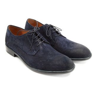 Derby Shoes Paulo Navy-000-012735-20