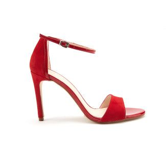 Sandals Delicate Suede Red-000-012157-20