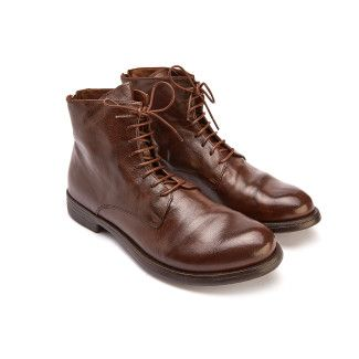 Lace Up Boots Hive 016 Cigar-000-012585-20
