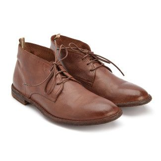 Lace Up Boots Steple 004 Tabacco-000-012676-20