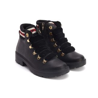 Lace Up Boots 4378000 Nero-001-001650-20