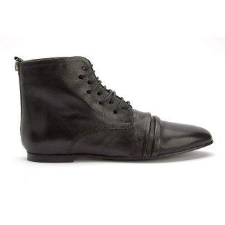Lace Up Boots Sawa Nero-000-012690-20