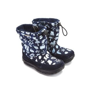 Kid's Insulated Boots NATURINO Poznur Vel./Tech Bosco Blu