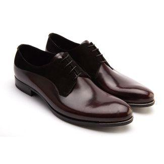 Men's Derby Shoes FABI FU9180 Bordo/Nero