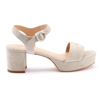 Women's Platform Sandals APIA Giuletta Suede Sand
