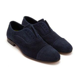 Men's Lace Up Shoes FABI 8479 Navy