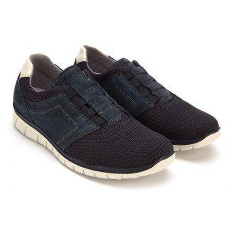 Men's Slip On Shoes IGI&CO 3118200 Blu Scur