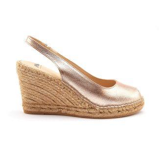 Women's Wedge Peep Toe Sandals APIA Carina Rosa