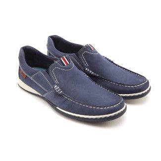 Men's Slip On Shoes APIA Nautic 03 Blue