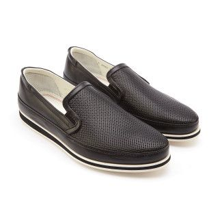 Men's Slip On Sneakers FABI FU8985 Nero