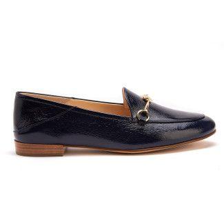 Women's Loafers HOGL Prepstern 7-101635 Blue