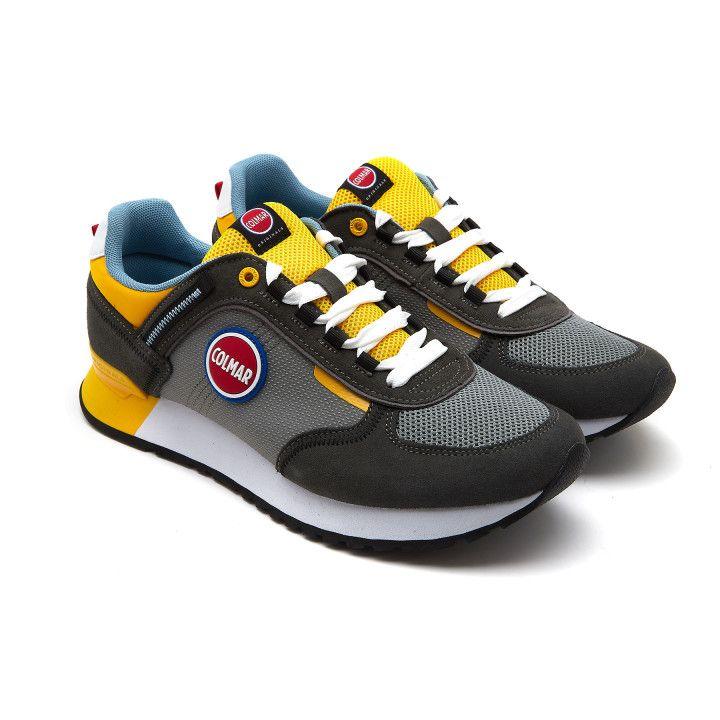 Sneakers Travis Sport Colors 039 Gr/Yel-001-002156-20