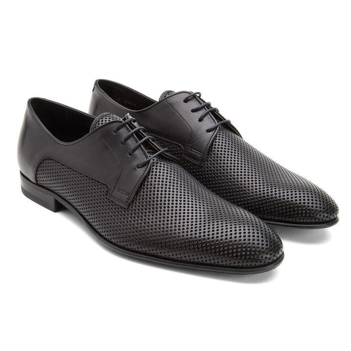 Derby Shoes FU9854 Nero-000-012705-20