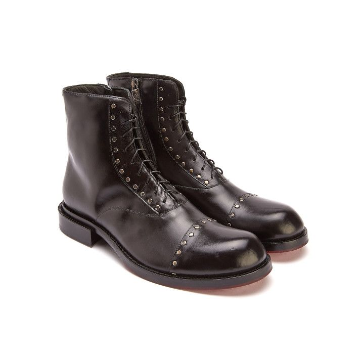 Lace Up Boots 1990 Nero-000-012600-20