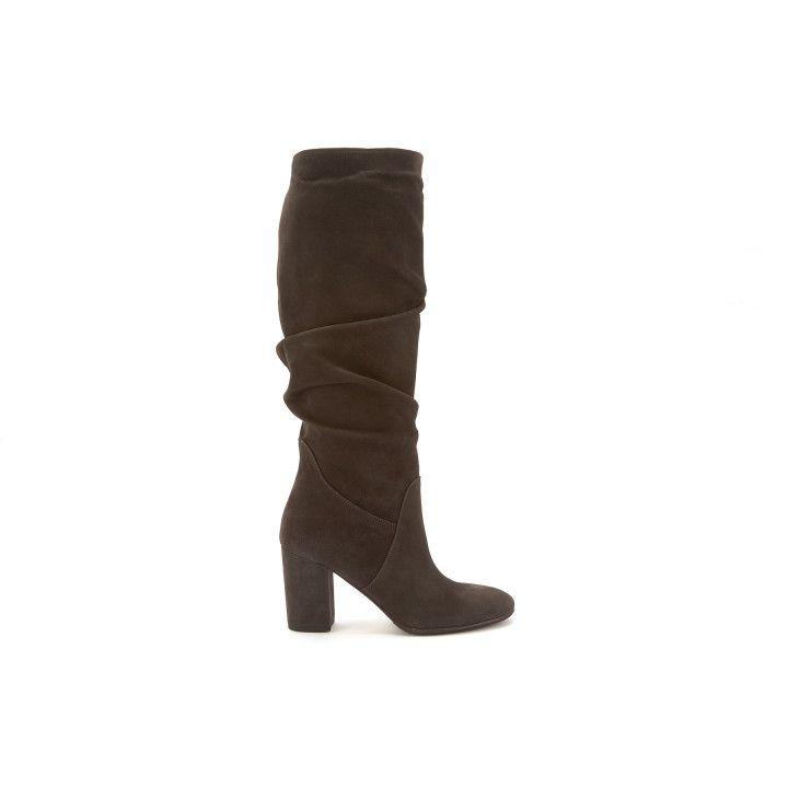 High Boots Berta Cam. Fumo-000-012431-20