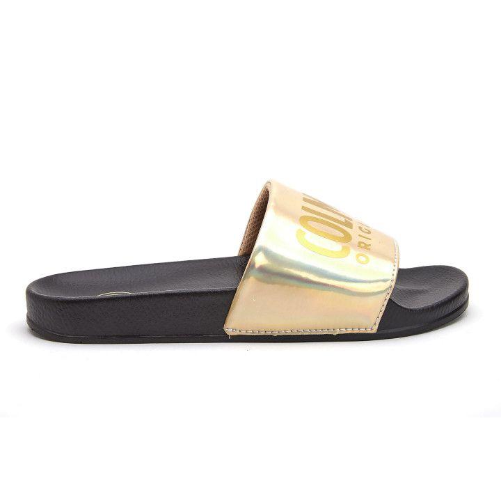Mules Slipper Lux 609 Blk/Gold-001-001862-20