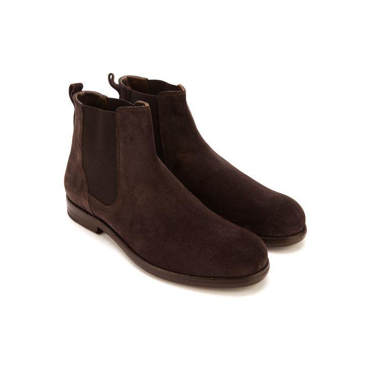 choose official cute wide selection of designs Men's Chelsea Brorue Boots APIA Portos 02 Silv 397