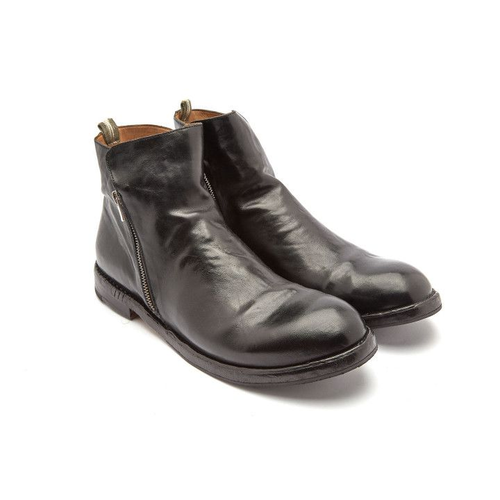 Ankle Boots Character 010 Nero-000-012918-20