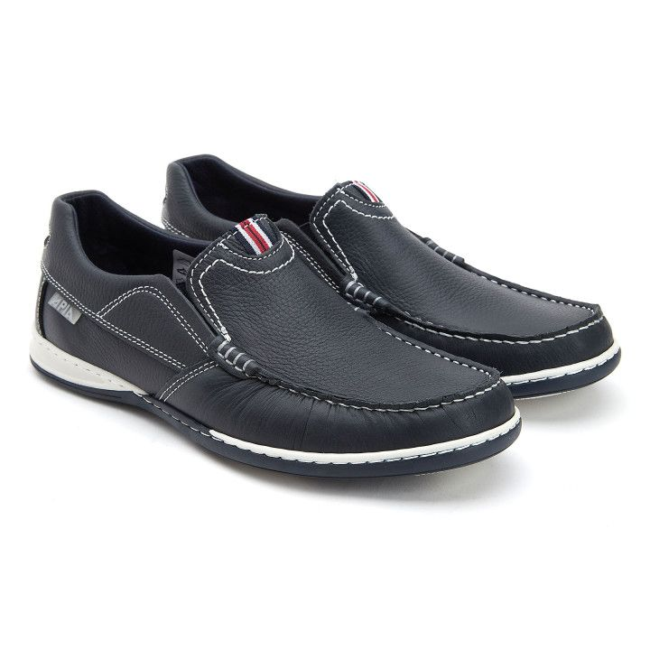 Loafers Nautic Moc Navy/Red-000-012745-20