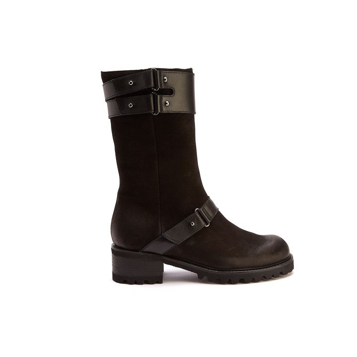 Insulated Boots Vika Nap. Nero-000-012553-20