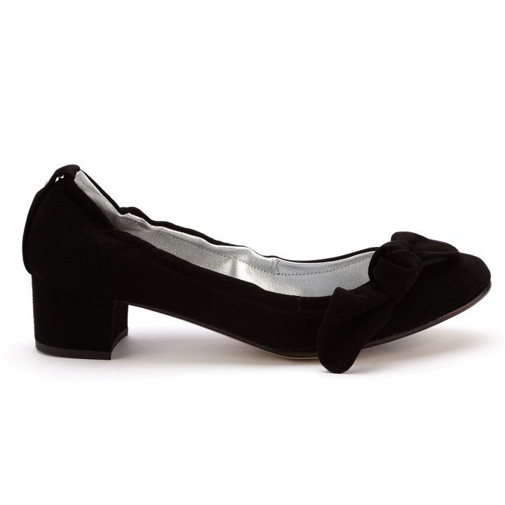 Block Heel Pumps Ewa 107 Cam. Nero-000-012426-20