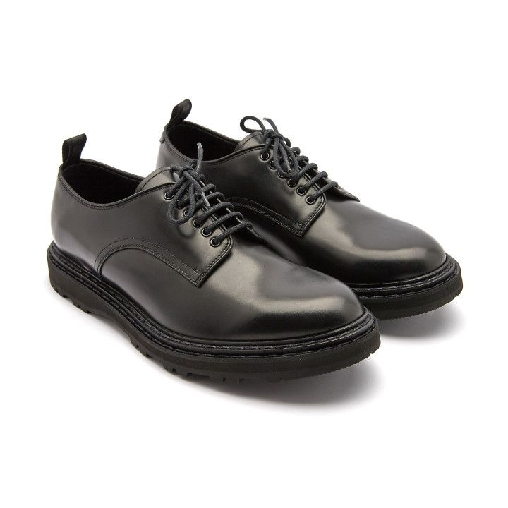 Derby Shoes Lydon 001 Nero-000-012822-20