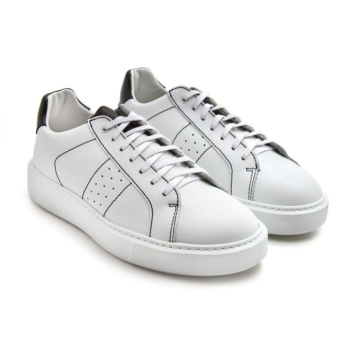 Sneakers Alan Wht/Blk-000-012894-20