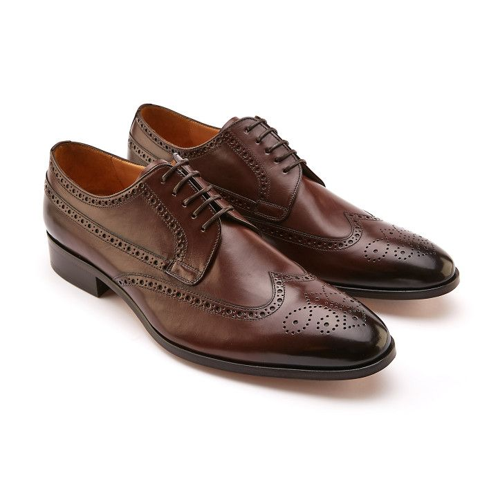 Brogues Shoes Pombeiro Brown-000-012278-20
