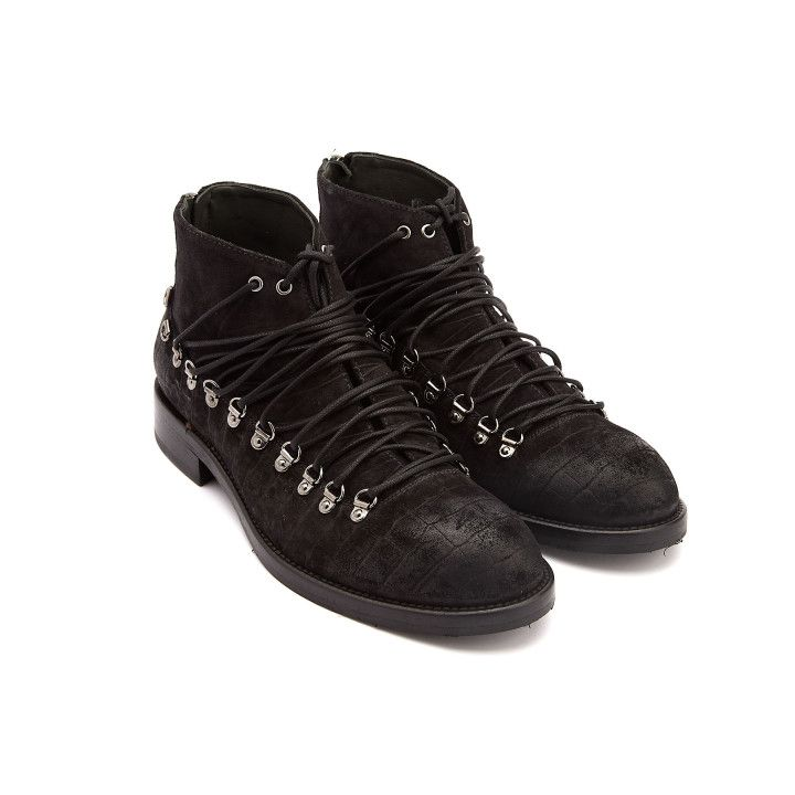 Ankle Boots 1357 Cocco Nero-000-012828-20