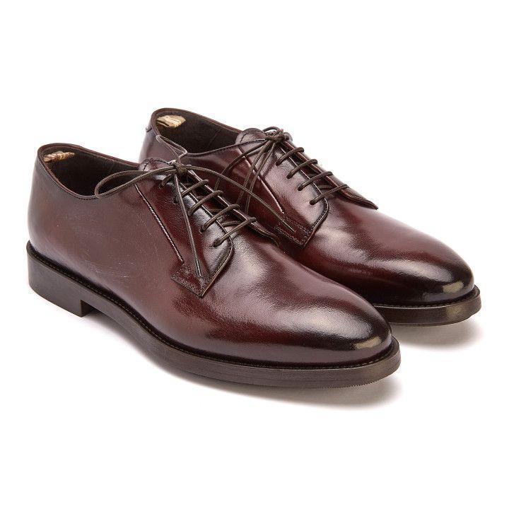 Derby Shoes Ergosum 001 Bordo-000-012587-20