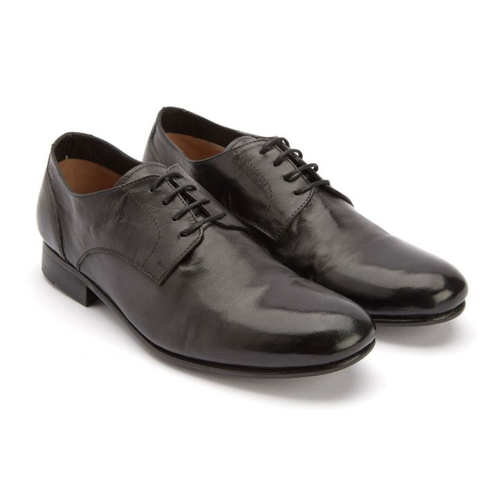Derby Shoes Minister Nero-000-012720-20