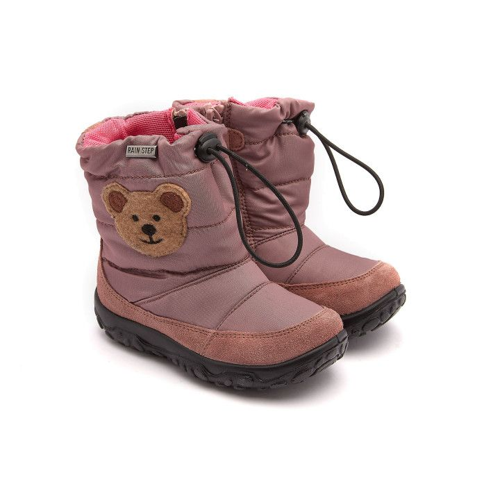 Insulated Boots Poznurr Bear Rosa Antico-001-001963-20