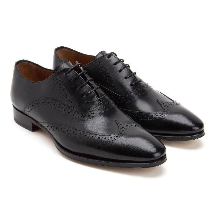 Brogues Shoes 094 Calf Nero-001-001903-20