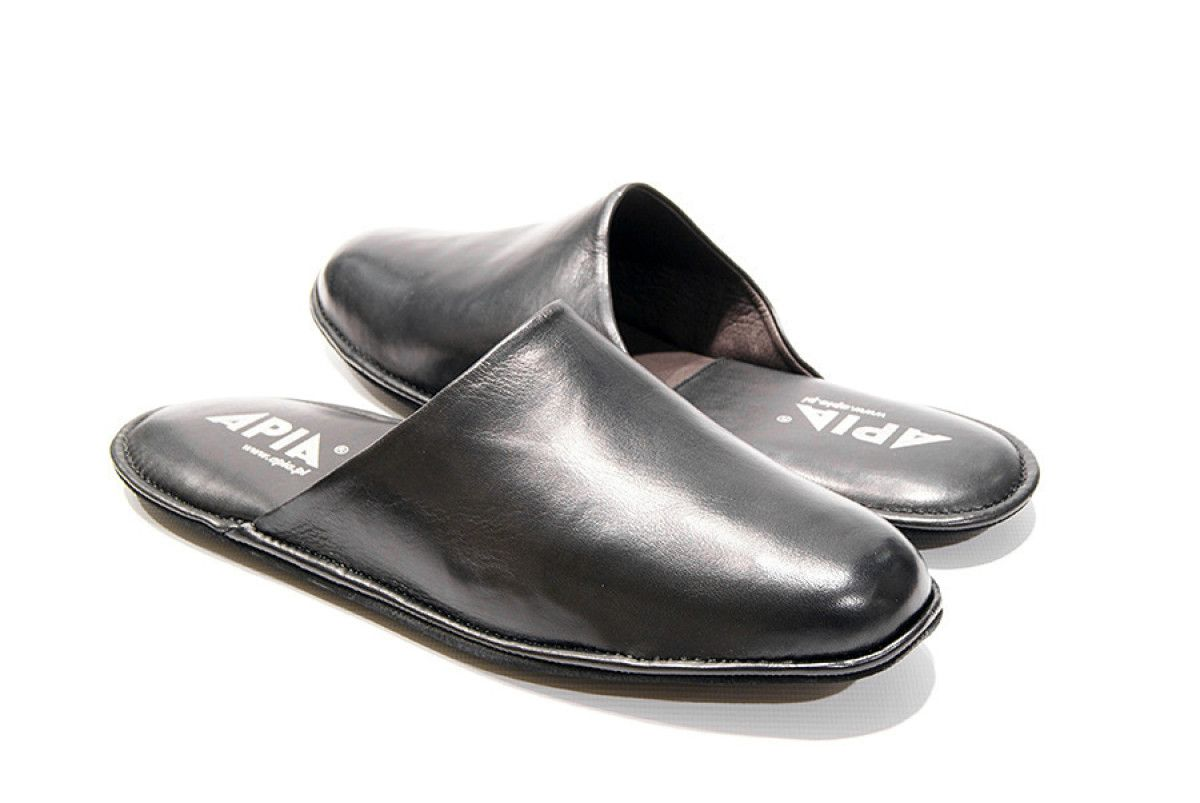 Men's Slippers Apia 12045 Negro